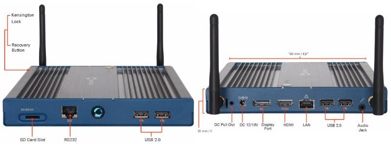 aopen chromebox commercial 2 02-AOpenが海外で「Chromebox Commercial 2」を発表。デジタルサイネージを中心とした商用・産業向け