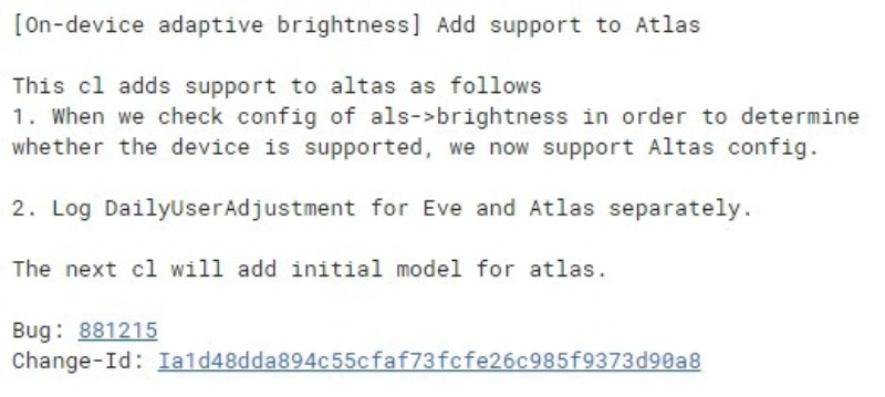 atlas pixelbook adaptive brightness