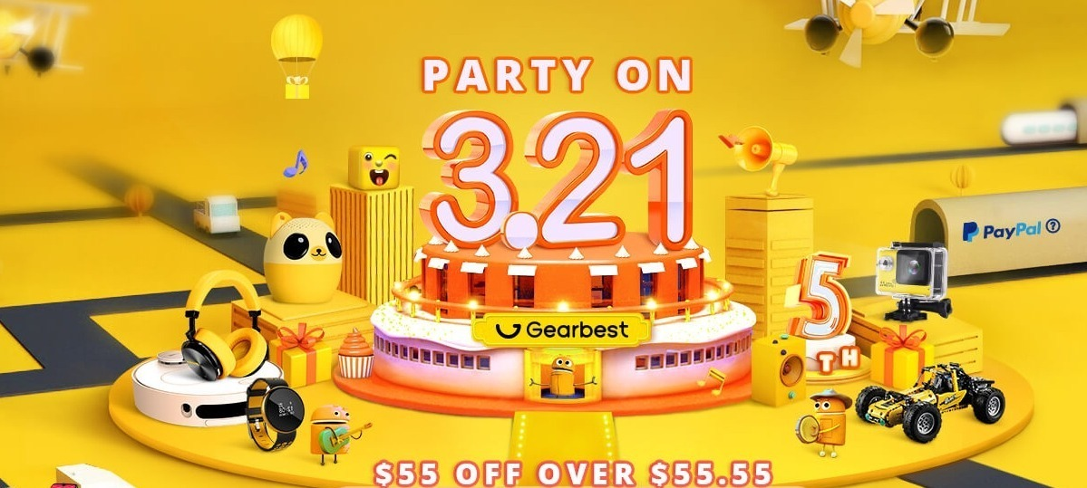 gearbest 5th sale campaign