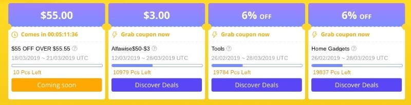 gearbest 5th sale event coupon