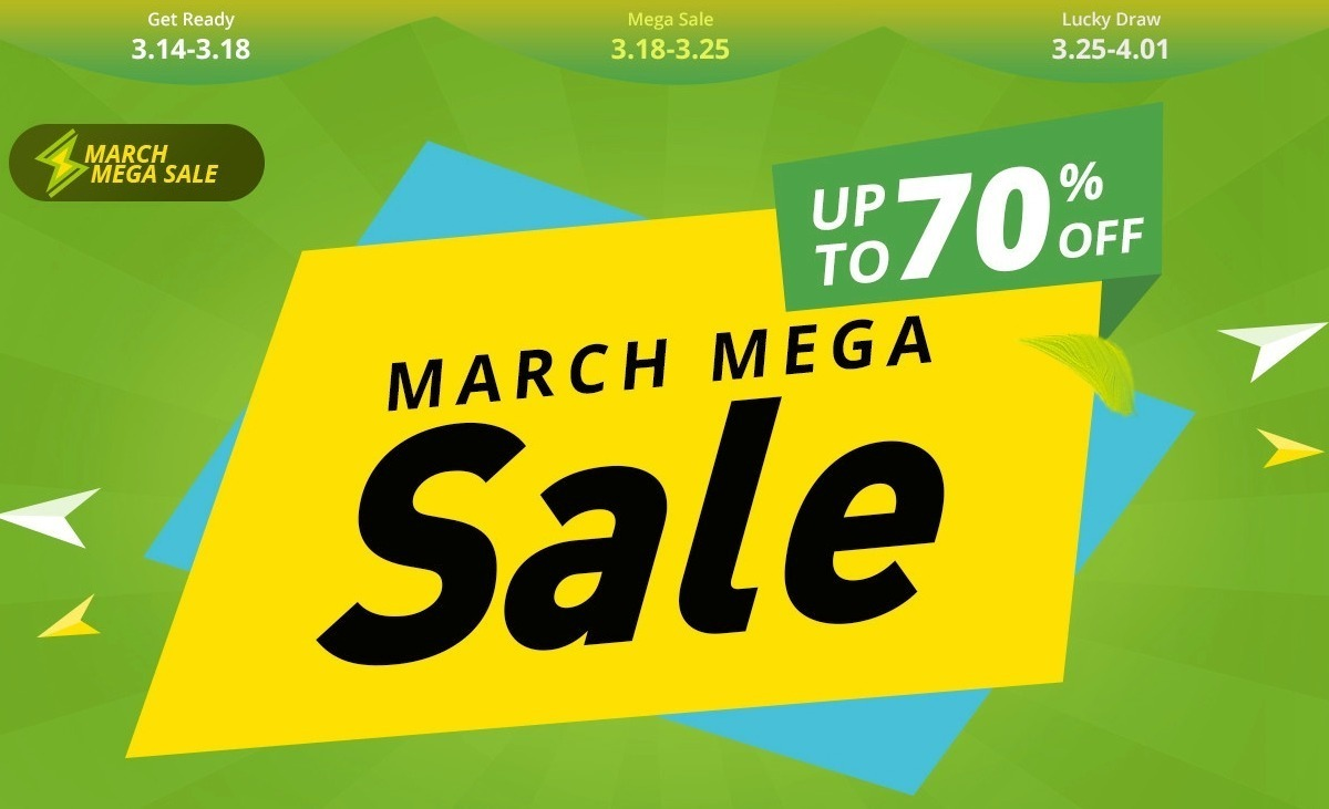 geekbuying 2019 march mega sale coupon2 00-Geekbuyingの「MARCH MEGA Sale」で最大70%オフ!さらにお得なクーポンも追加[PR]