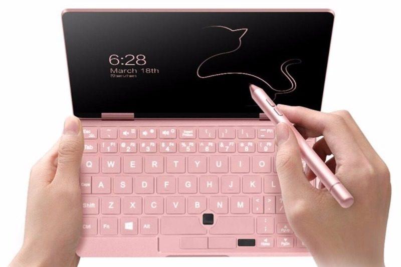 onenetbook onemix2s pink