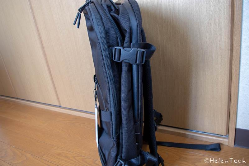 review aer travel pack 2 007-「Aer Travel Pack 2」を購入したのでレビューする!1〜3泊にぴったりのミニマルなトラベルバックパック