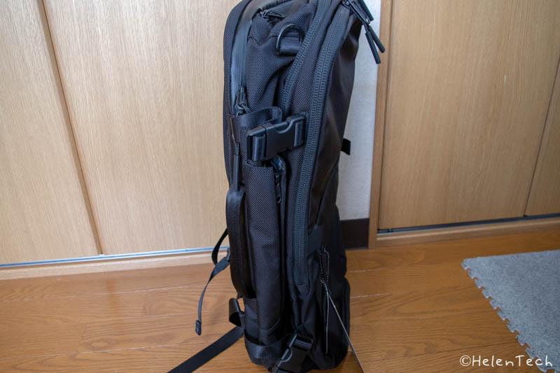 review aer travel pack 2 008-「Aer Travel Pack 2」を購入したのでレビューする!1〜3泊にぴったりのミニマルなトラベルバックパック