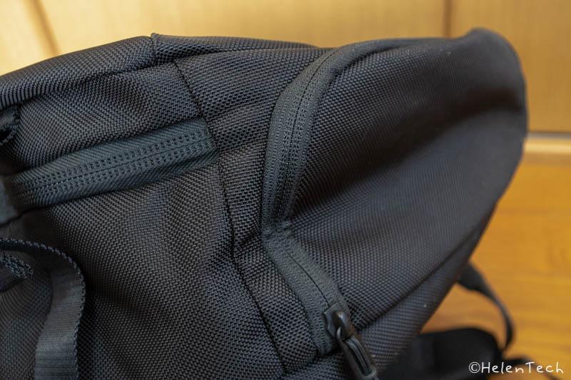review aer travel pack 2 016-「Aer Travel Pack 2」を購入したのでレビューする!1〜3泊にぴったりのミニマルなトラベルバックパック