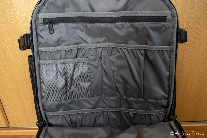 review aer travel pack 2 018-「Aer Travel Pack 2」を購入したのでレビューする!1〜3泊にぴったりのミニマルなトラベルバックパック