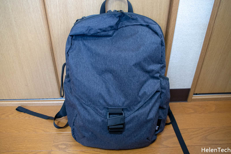 190402 Review AER Go Pack 009-AERのパッカブルバックパック「Go Pack」を購入したのでレビュー!旅行カバンに入れておけば便利だと思います。