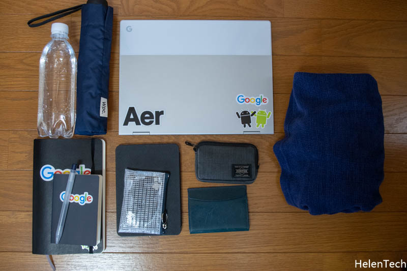 190402 Review AER Go Pack 017-AERのパッカブルバックパック「Go Pack」を購入したのでレビュー!旅行カバンに入れておけば便利だと思います。