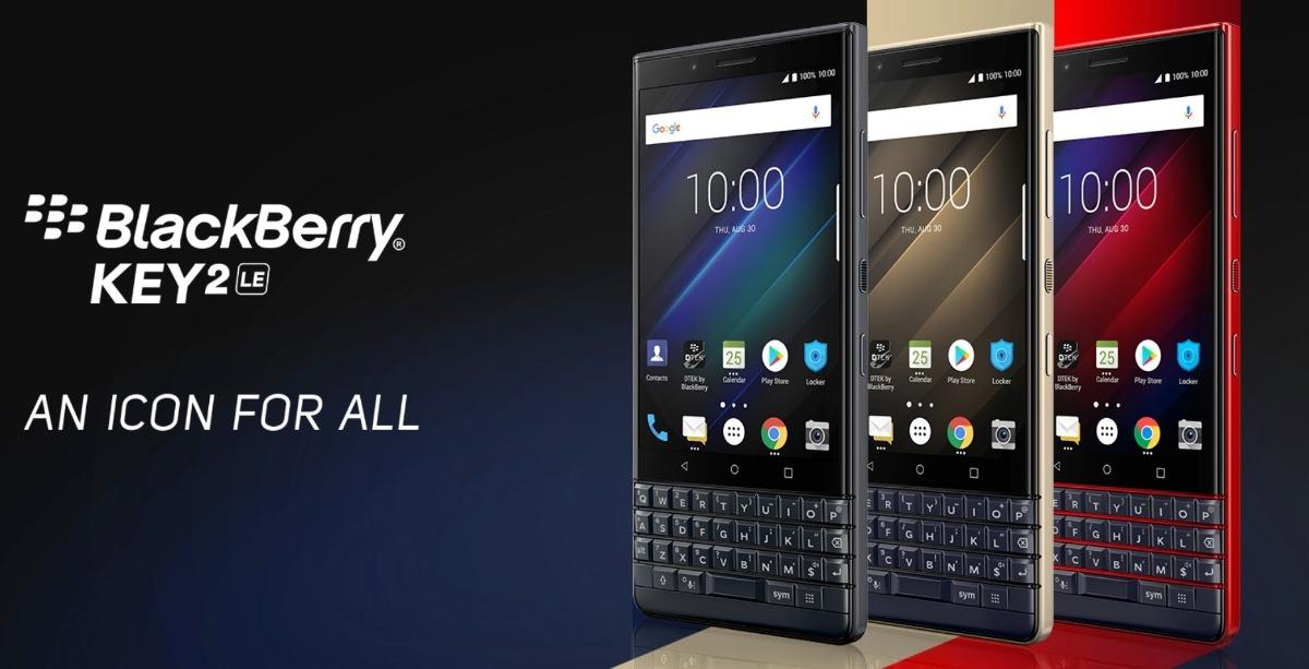 BlackBerry KEY2 LE image jp