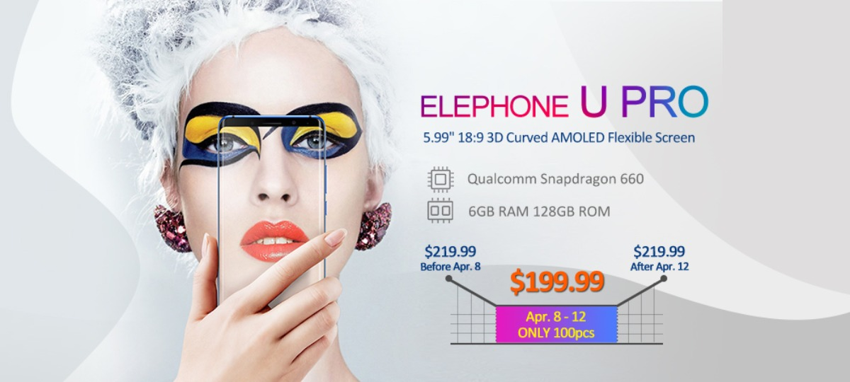 coolicool elephone u pro sale
