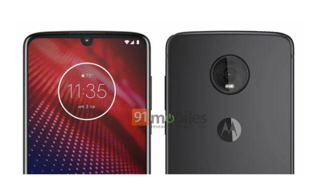 moto z4 leak image 640x360-モトローラの「Moto Z4」は6.4インチディスプレイにSnapdragon675を採用したミドルスペック?