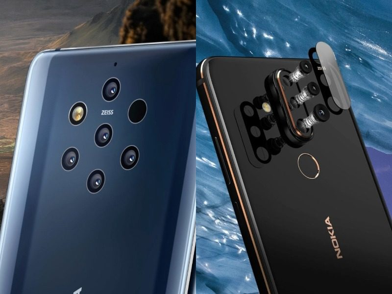 nokia9 and nokia x71 camera comp