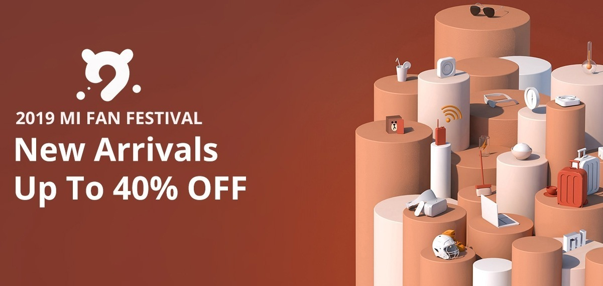 pr geekbuying mi fan festival 2019 april-GeekbuyingでXiamo製品がセールになる「Mi FAN FESTIVAL」を開催中!最大40%オフも[PR]
