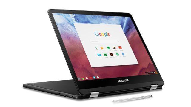 samsung chromebook pro image 640x360-Samsungの「Chromebook Pro」もようやくLinuxアプリ対応になるかも