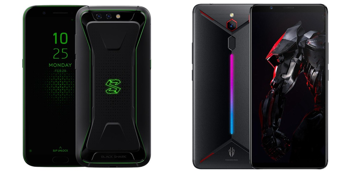 xiami black shark and nubia red magic mars-Geekbuyingで「Xiaomi Black Shark」と「Nubia Red Magic」がセール中![PR]