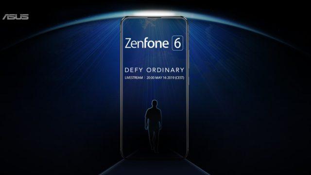 ASUS Zenfon 6 teaser image 640x360-5月16日に発表予定の「ASUS Zenfone 6」のティーザーが公式から登場。ノッチのないフルディスプレイモデル