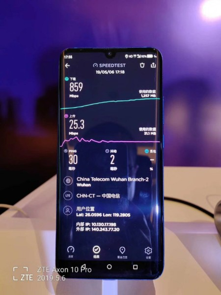 axon-10-pro-5g-spped-test