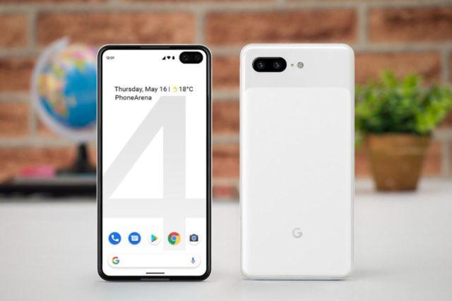 google pixel 4 image 640x427-早くも「Google Pixel 4」の画面保護シートが登場。リークに沿ったパンチホールディスプレイのデザイン