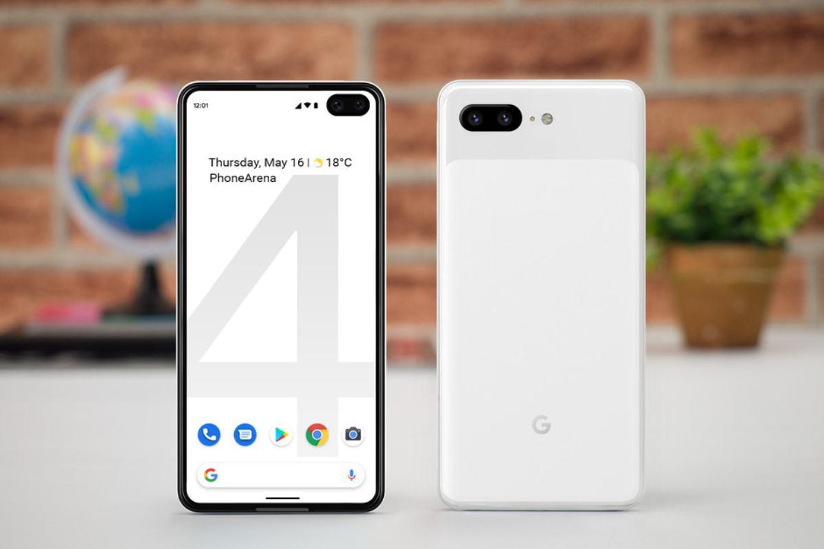 google pixel 4 image-早くも「Google Pixel 4」の画面保護シートが登場。リークに沿ったパンチホールディスプレイのデザイン