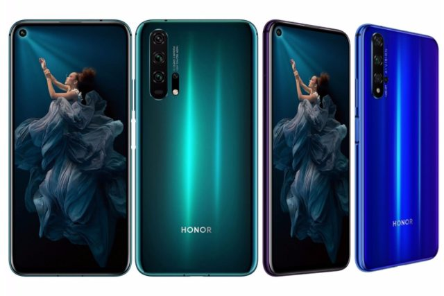 official honor 20 and 20 pro image 640x427-Huaweiの「Honor 20」と「Honor 20 Pro」が正式にリリース!499ユーロからのハイスペックモデル