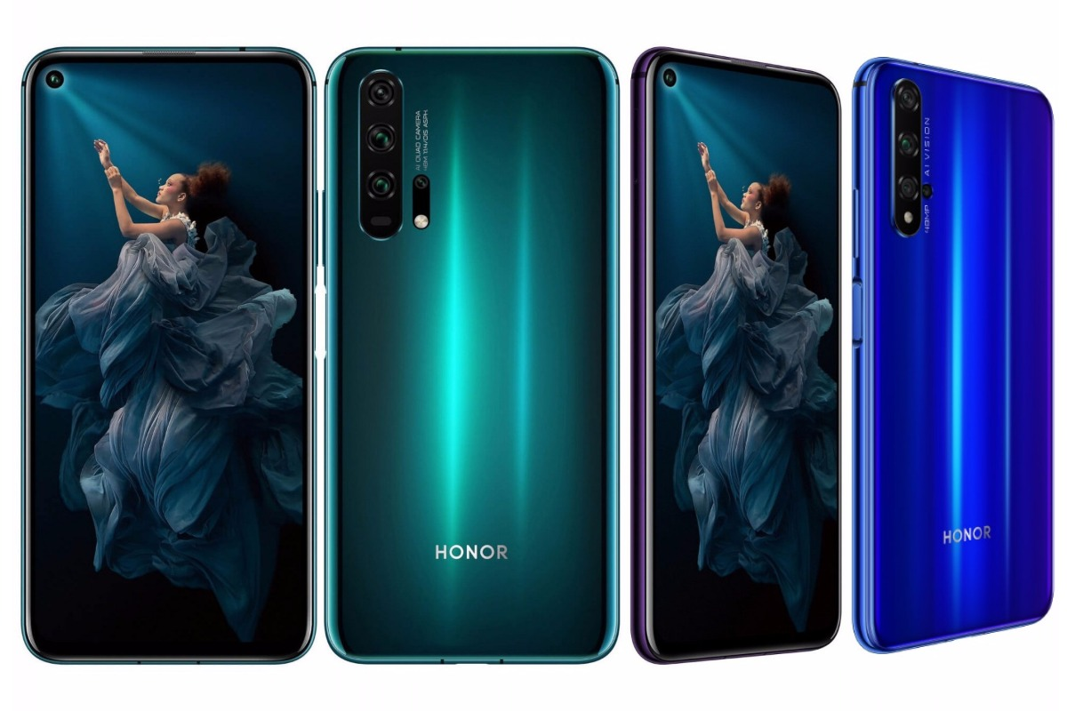 official honor 20 and 20 pro image-Huaweiの「Honor 20」と「Honor 20 Pro」が正式にリリース!499ユーロからのハイスペックモデル