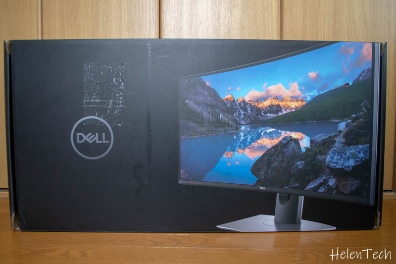 review dell u3481w monitor 001-DELLのウルトラワイドモニタ「U3419W」を購入したのでレビュー!USB-C接続対応の曲面ディスプレイ