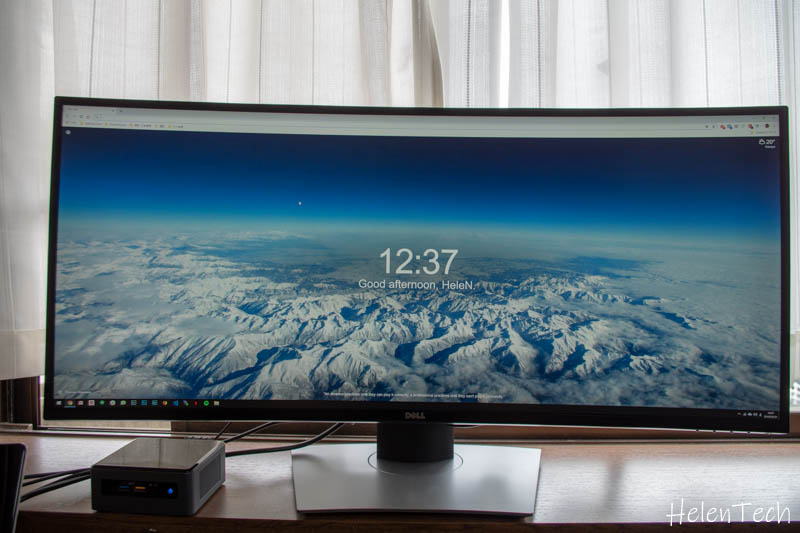 review dell u3481w monitor 017-DELLのウルトラワイドモニタ「U3419W」を購入したのでレビュー!USB-C接続対応の曲面ディスプレイ