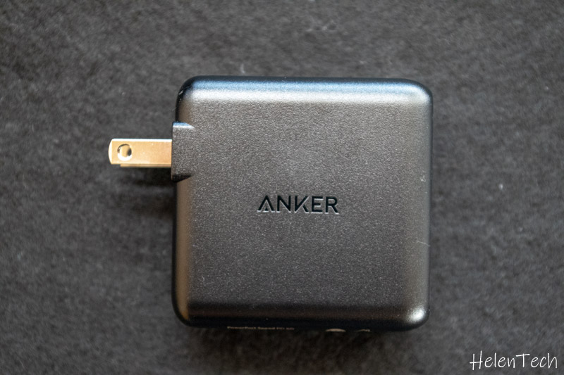 Anker PowerPort Speed 1 PD 60 006-Ankerの「PowerPort Speed 1 PD 60」を購入したのでレビュー!最大60W出力USB-C急速充電器