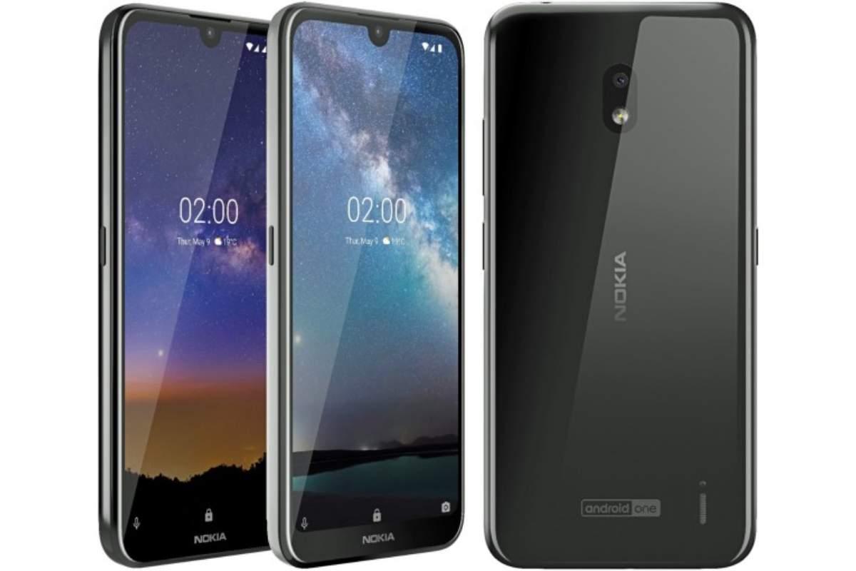 Nokia 2 2 main image-エントリーモデルの「Nokia 2.2」がインドで正式に発表されました。低価格でもノッチあり、フェイスアンロック対応