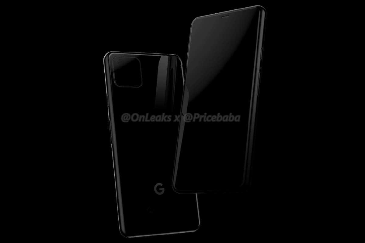 rumor new render pixel 4 image-Googleの「Pixel 4」に関する新たなレンダリング画像が登場。iPhoneのようなリアカメラになる可能性も?