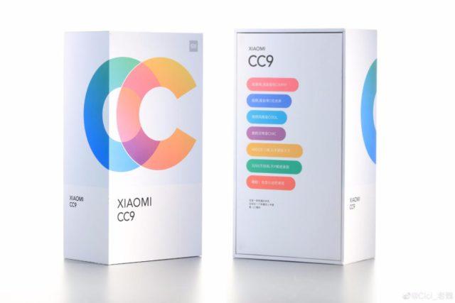 xiaomi cc9 package 640x427-Xiaomiが「Xiaomi CC9 / CC9 MEITUカスタム版」を7月2日に北京でリリースすると公表。
