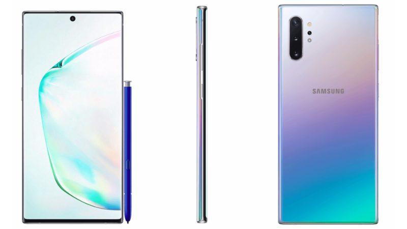 Samsung Galaxy Note 10 plus prism-ついにSamsungの「Galaxy Note 10」と「Galaxy Note 10+」の公式レンダリングがリーク