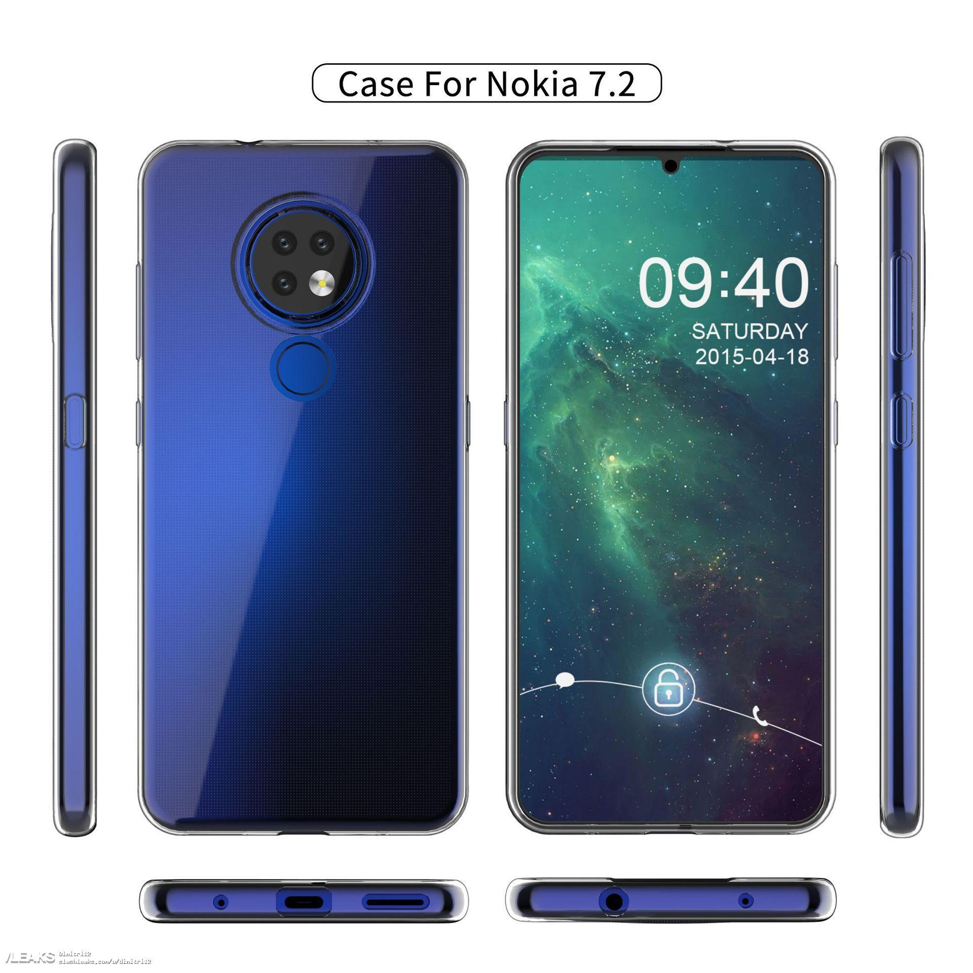 alleged nokia 7.2 ta 1198 case matches previously leaked design 99-円形配置のトリプルリアカメラは「Nokia 7.2」の可能性。一部スペックがリークされました