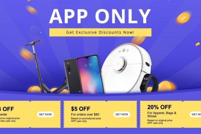 geekbuying app sale event 640x427-Geekbuyingでショップアプリユーザー限定のクーポン&セールイベントを開催中[PR]