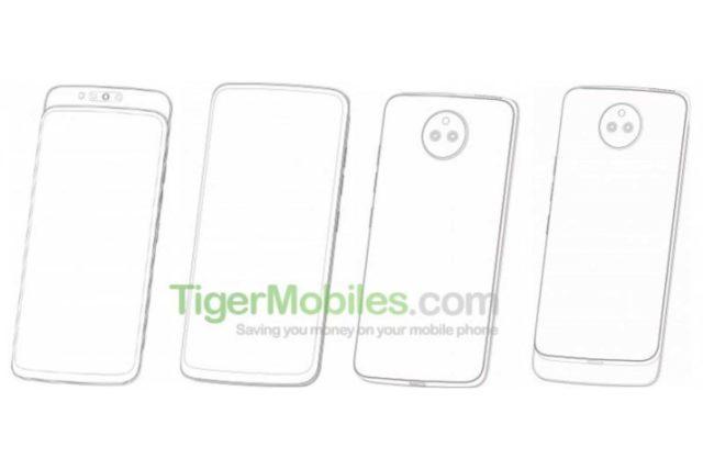 lenovo slider phone patent image 640x427-Lenovoがスライダー式フロントカメラのスマートフォンに関する特許を取得したようです