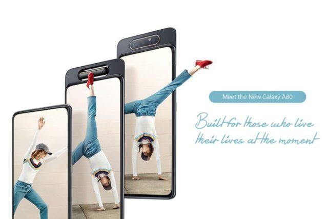 samsung galaxy a80 image 640x427-GearBestで「Samsung Galaxy A80」がフラッシュセール中!回転式フロントカメラ搭載[PR]