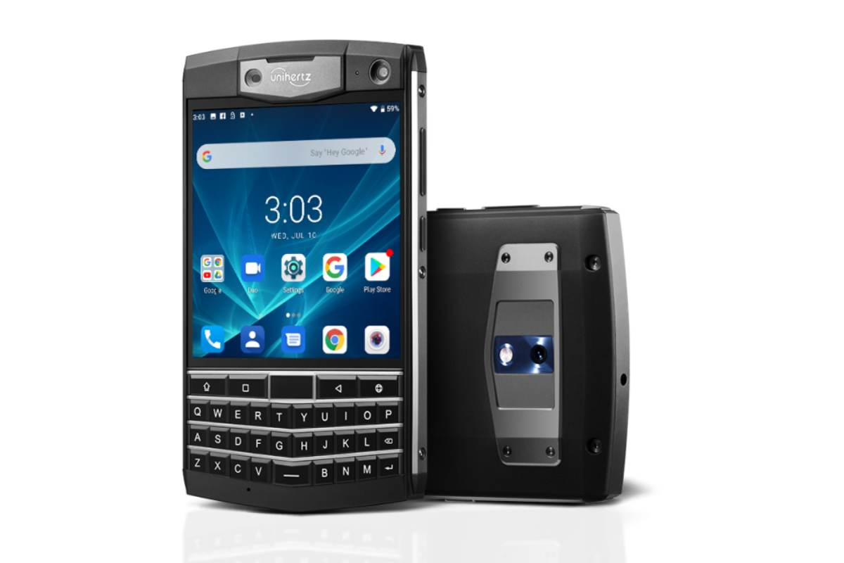 unihertz titan spec image-Unihertzが「Titan」というAndroid搭載版「Blackberry Passport」みたいな端末を公開