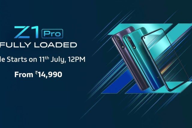 vivo z1 pro release india 640x427-インドで「Vivo Z1 Pro」が発表されました。リーク通り「Z5x」のCPUとフロントカメラのアップグレードモデル