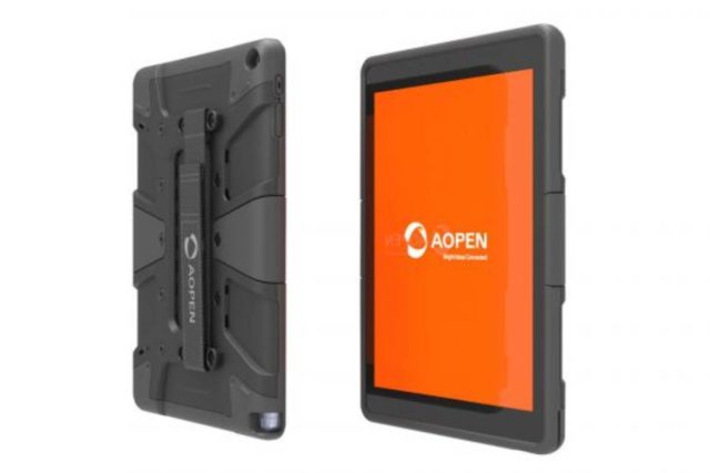 AOPEN Chromebook Commercial Tab 640x427-AOpenが「Chromebook Commercial Tab 10」を発表。商用で堅牢性重視、VESAマウント付き
