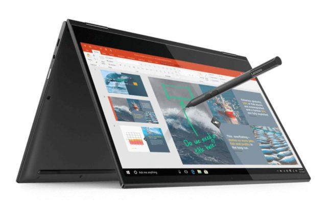 Lenovo Yoga rumor 5g laptop 640x427-Lenovoが2019年末までに5G対応と1日中使えるバッテリーのノートパソコンをリリースする計画があるようです