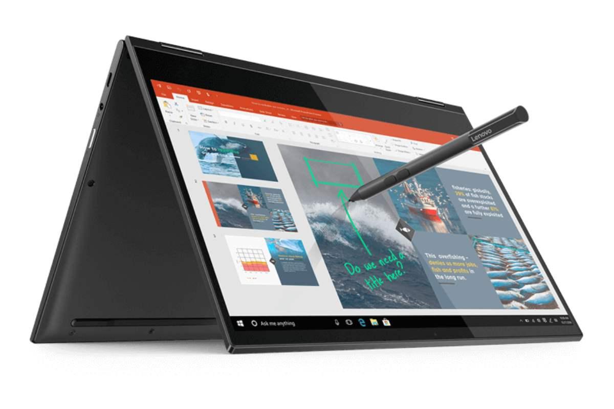 Lenovo Yoga rumor 5g laptop-Lenovoが2019年末までに5G対応と1日中使えるバッテリーのノートパソコンをリリースする計画があるようです