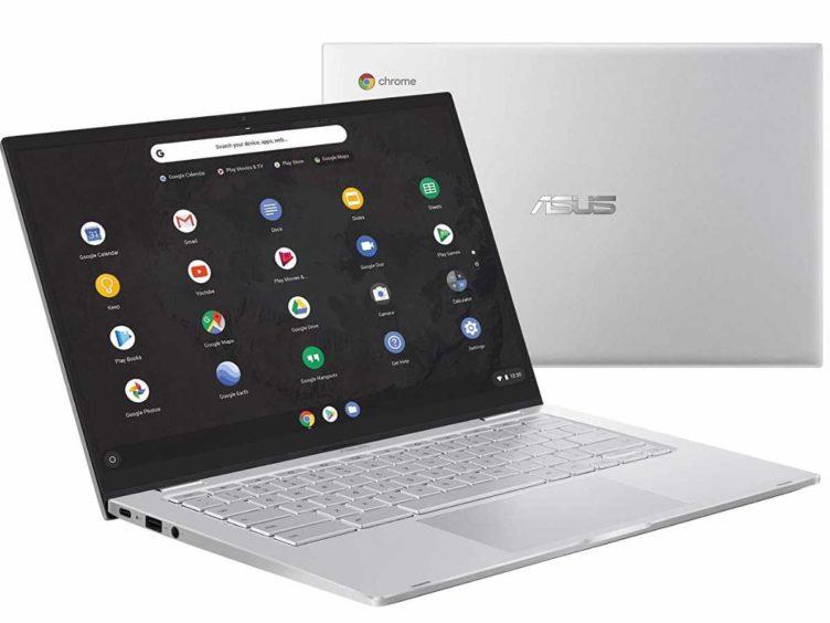 asus chromebook c425 01 752x564-ASUSの「Chromebook C425」というモデルが米国Amazonに登場。m3搭載のクラムシェルタイプ