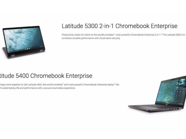 dell latitude chromebook 5300 5400 640x480-DELLが「Latitude Chromebook 5300 / 5400」をエンタープライズ向けに発表
