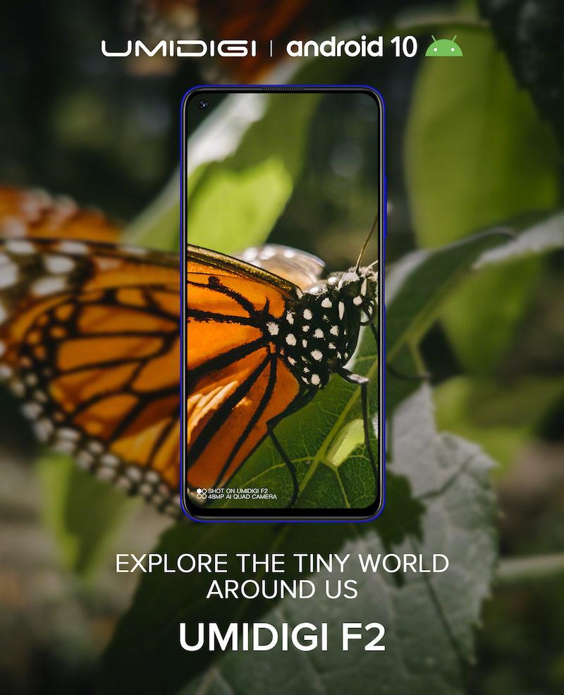 UMIDIGI F2 poster image 00001 800x985-Android 10搭載の「UMIDIGI F2」が9月末に発表とのウワサ。4眼カメラとパンチホールディスプレイ