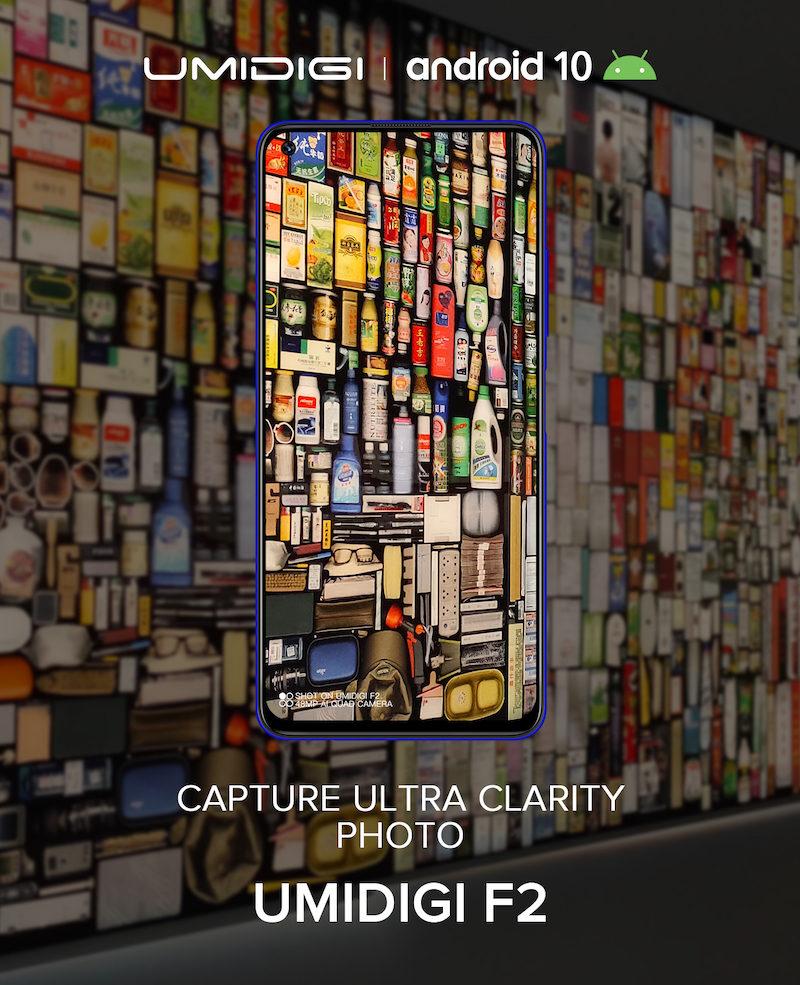 UMIDIGI F2 poster image 00003 800x985-Android 10搭載の「UMIDIGI F2」が9月末に発表とのウワサ。4眼カメラとパンチホールディスプレイ