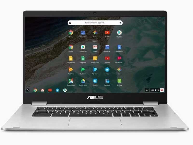asus chroembook c523 front 800x600-ASUSが日本でも「Chromebook C523NA」を発売!15.6インチでフルHD、N3350の8GBRAMモデル