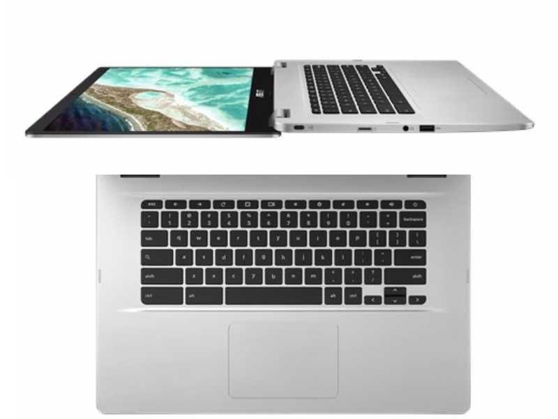 asus chromebook c523 flat keyboard 800x600-ASUSが日本でも「Chromebook C523NA」を発売!15.6インチでフルHD、N3350の8GBRAMモデル