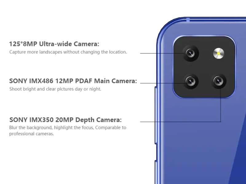 cubot-x20-pro-camera