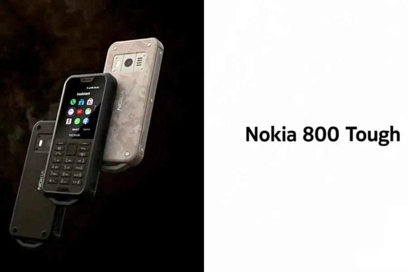nokia 800 tough 800x533-ノキアが「Nokia 7.2」、「6.2」、「110」、「800 Tough」、「2720 Flip」の5つのモデルを発表