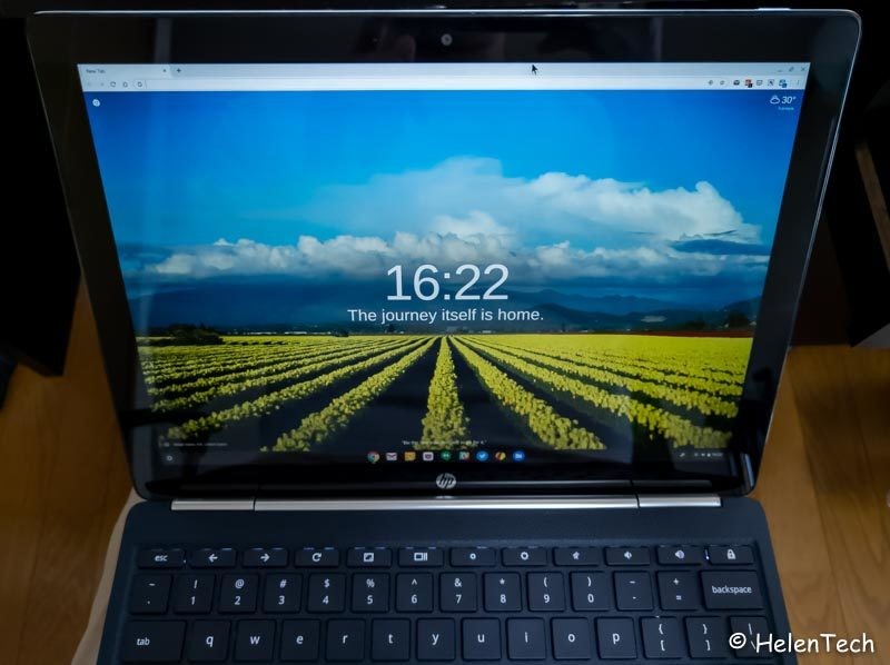 review hp chromebook x2 026 800x598-「HP Chromebook x2」の実機を初見レビュー!Chromebook初の着脱式キーボード搭載モデル
